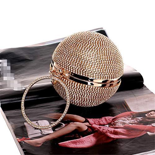 Prom Evening Party Cocktail Shape Clutch Bridal Box Xuanbao Silver bag Bag Golden Diamante Prom Black Handbag Bag Nightclub for Clutch Womens Ball Evening Color Wedding Purse Handbag Bridal zzw1qZxg