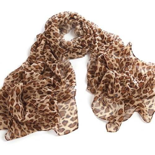 Animal Print Scarf Wrap Shawl