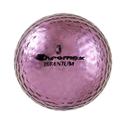 Chromax M1X Golf Balls (Pack of 6), Purple Chromax M1X Golf Balls 6 pack -Purple