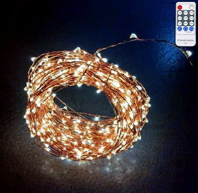QUALIZZI Starry Lights with Remote Control/Dimmer – Various Lengths