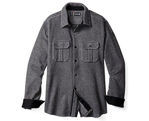 Herringbone Jacket Charcoal - 7