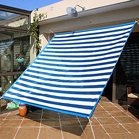 Sombra Tela Malla Sombra Resistente A Los Rayos UV Sol Malla Sombra Azul Blanco for Las Flores de La Cubierta del Jardín Plantas Red de sombreado (Size : 2x3m): Amazon.es: Hogar