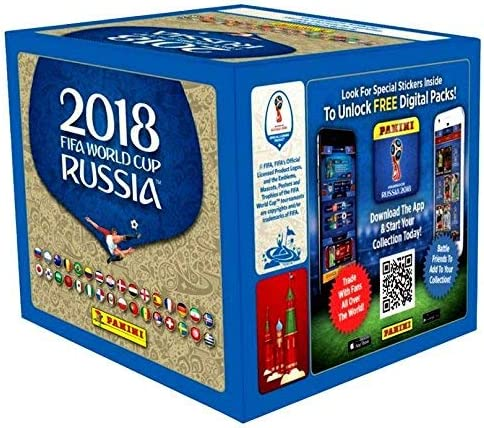 Panini 2018 FIFA - Pegatinas para Taza de fútbol: Amazon.es: Deportes y aire libre