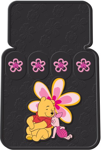 Pooh Paradise Universal-Fit Molded Front Floor Mats