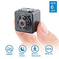 SOOSPY 1080P Hidden Spy Camera-Mini Portable Digital Video Recorder Nanny Cam with Night Vision,Motion Detection