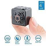 1080P Mini Hidden Spy Camera-SOOSPY Portable Digital Video Recorder with Audio,Night Vision ,Motion Detection