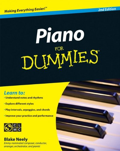 Piano For Dummies (Piano Chords For Dummies)