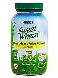 Sweet Wheat Organic Wheat Grass Juice Powder - 2 Bottles/360 Caps