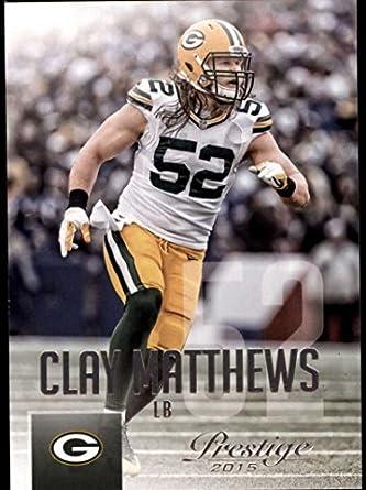 04c91c2d6 Amazon.com  Football NFL 2015 Prestige  98 Clay Matthews Packers ...