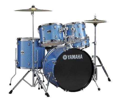 Yamaha Gigmaker 5 Piece Standard Shell Pack, Blue Ice Glitter