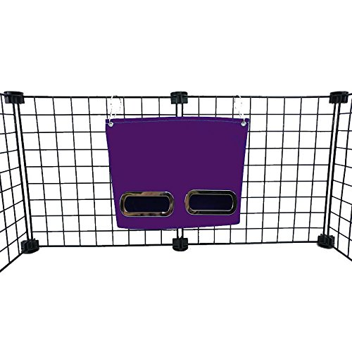 Guinea Pig Hay Bag Feeder (Small, Purple)