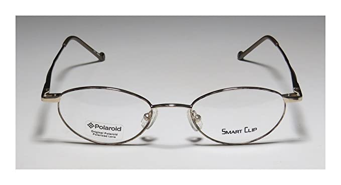 1ce8f1eb75 Amazon.com  SmartClip 405 Mens Womens Oval Full-Rim Shape Sunglass Lens Clip-Ons  Flexible Hinges Eyeglasses Spectacles (48-19-135