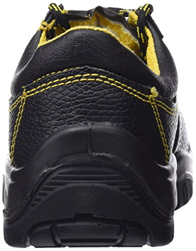 Wolfpack–Schuhe Sicherheit Leder, Schwarz Nr. 41