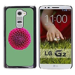 Stuss Case / Funda Carcasa protectora - Pink Round Cottonballs - LG G2