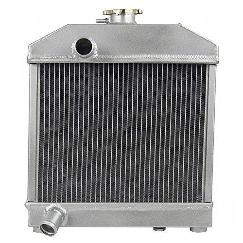 OzCoolingParts 1522172060 Kubota Tractor Radiator, 3 Row Core Aluminum Engine Radiator for Kubota L175 L185 L1500 L1501 L1801 OEM 15221-72060