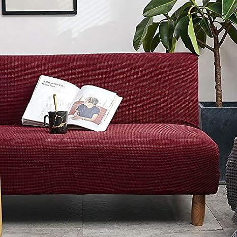 Color sólido plegable todo incluido trompeta simple sofá ...