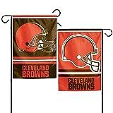 NFL Cleveland Browns Garden Flag