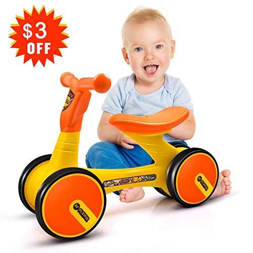XJD Baby Balance Bike Children Walker Toddler Trike Kids Bikes Bicycle 10-24 Months First Birthday Gift Girl Boy Indoor Outdoor