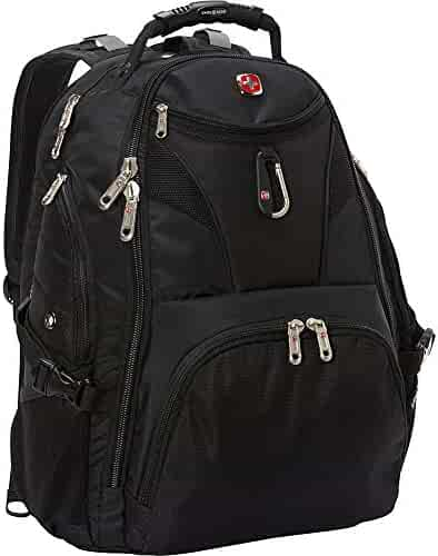SwissGear Travel Gear 5977 Scansmart TSA Laptop Backpack for Travel, School & Business - Fits 17