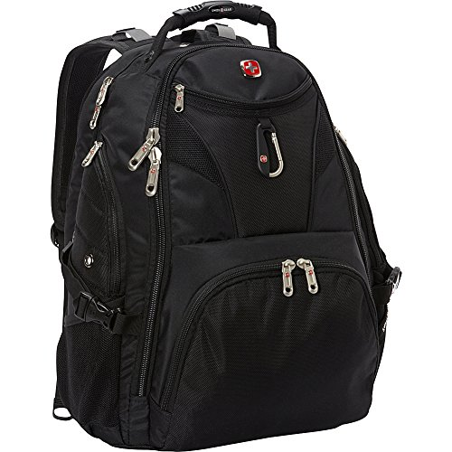 SwissGear Travel Gear 5977 Scansmart TSA Laptop Backpack for Travel, School & Business - Fits 17 Inch Laptop - (Black)