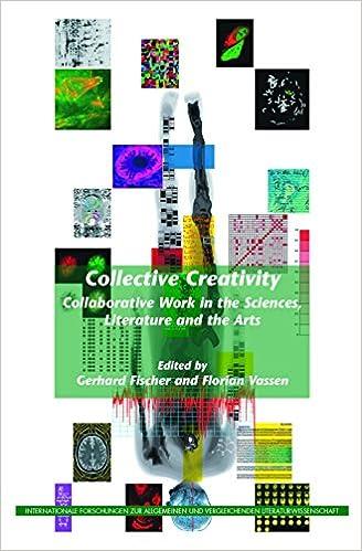 amazon collective creativity collaborative work in the sciences