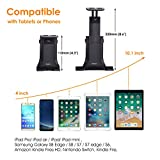 Avantree iPad Mount for Car Headrest, Tablets Car Holder Back Seat Bracket for iPad Mini Air Pro, Phones, Samsung Galaxy, 4'' to 10'' Devices - 9583