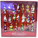 Kurt Adler 20-Piece Petite Treasures Glass Ornament Set