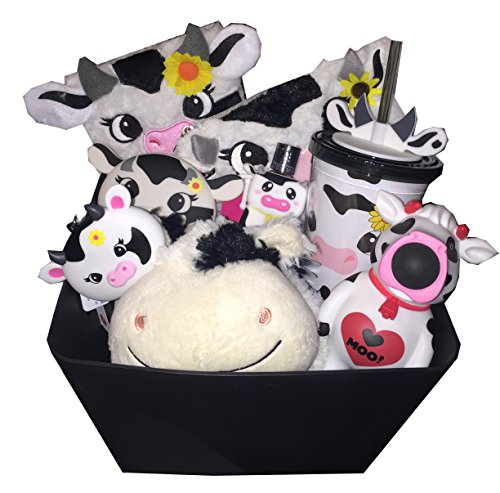 moo-cow-moo-ultimate-gift-basket-with-plush-pillow-pet-lock-key-journal-diary-brush-tumbler-cup-with