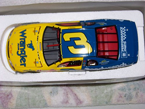 1999 Nascar Action Racing Collectables . . . Dale Earnhardt #3 Gm Goodwrench Service Plus / Wrangler Jeans Chevy Monte Carlo 1/24 Diecast . . . Limited Edition