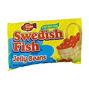 swedish fish jelly beans 13oz grocery