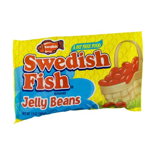 Swedish fish eggs 9 5 oz bags pack of 3 for Swedish fish jelly beans