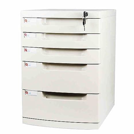Cassettiere Per Ufficio Plastica.Wanli666 Cassettiera Portaoggetti In Plastica Cassetto