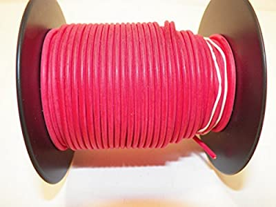 RED Automotive TXL Copper Wire, 22 GA, AWG, GAUGE. Truck, Motorcycle, RV. General Purpose. DEFFERENT LENGTHS AVAILABLE, SELECT LENGTH BELOW