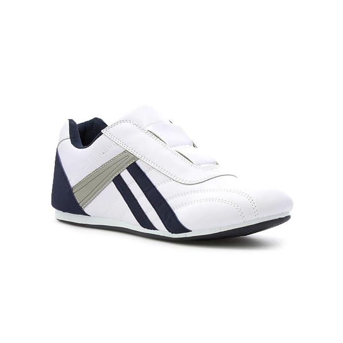 Tick Zapato Sin Cordones, Negro, de Malla, Para Hombre Talla 7 UK/40.5 EU - Negro