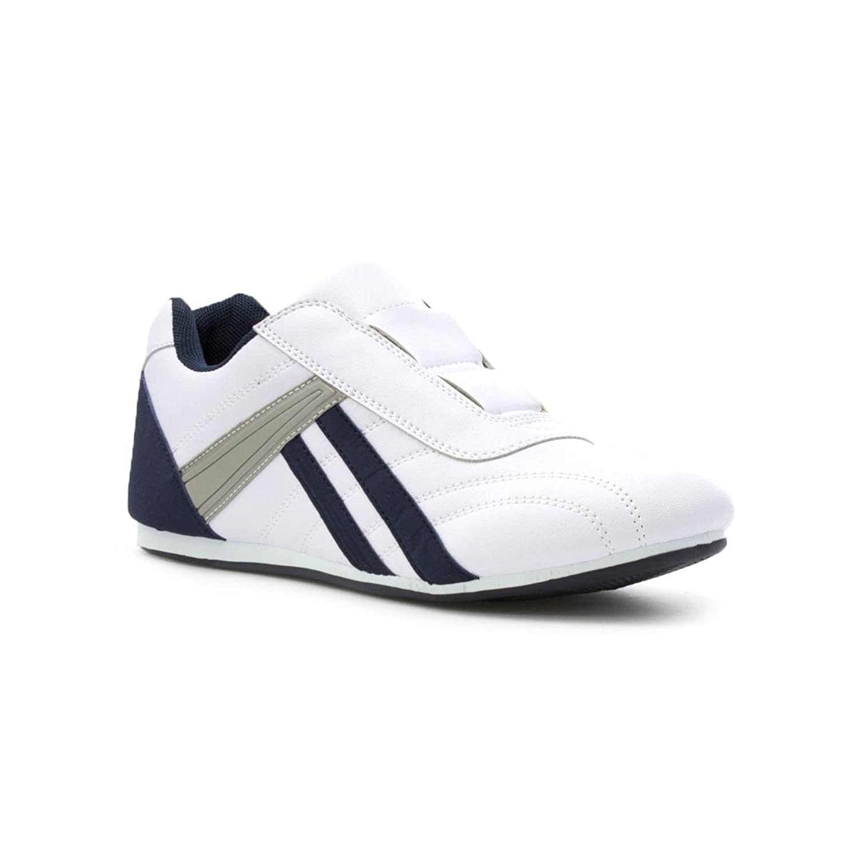 Tick Zapato Sin Cordones, Negro, de Malla, Para Hombre Talla 6 UK/39.5 EU - Negro