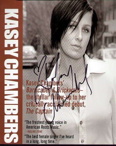 Kasey Chambers Autographed Preprint Signed Photo by Celebrity Graphs