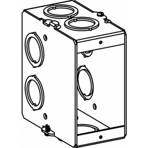 Mbg 1 1 G Gangable Masonry Box 3 12deep