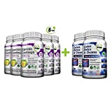 Colon Detox & Cleanse + Pure Garcinia Cambogia Extract- Weight Loss Bundle/480 Veggie Capsules-Gluten Free-Non GMO