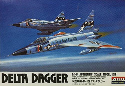 マイクロエース 1/144 ジェットファイターシリーズシリーズ F-102Aデルタダガーの商品画像