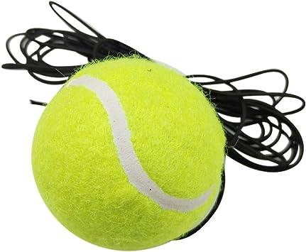1 pelota de tenis y cuerda de repuesto, para entrenamiento de ...