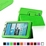 Fintie (Green) Slim Fit Folio Case Cover for Samsung Galaxy Tab 7.0 Plus / Samsung Galaxy Tab 2 7.0 Tablet-Multiple Color Options, Best Gadgets