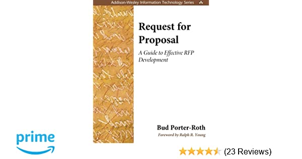 Request for Proposal: A Guide to Effective RFP Development: Bud
