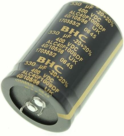 2x Snap In Elko Kondensator 330µf 400v 105 C Alc40f1009df 330uf Beleuchtung