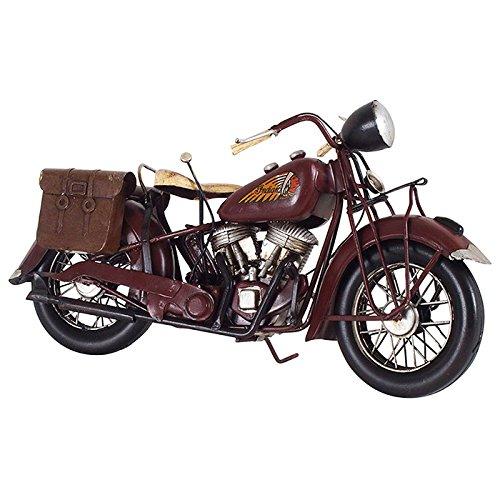 ブリキのおもちゃ B-バイク04 アンティーク レトロ 車 クルマ ビンテージ オートバイ インディアン チーフ INDIAN CHIEF スプリンガー ハーレー B079VJL3D8 バイク04 バイク04