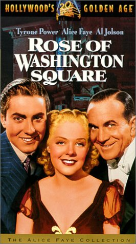 Rose of Washington Square [VHS]