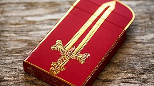 Arthurian Playing Cards Excalibur Edition by Jackson Robinson
