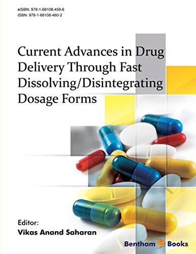 Current Advances in Drug Delivery Through Fast Dissolving/Disintegrating Dosage Forms Disintegrating Tablets