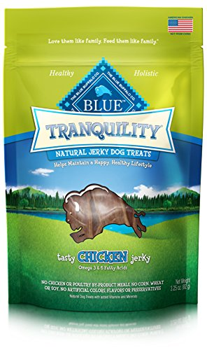 BLUE Tranquility Chicken Jerky Dog Treats 3.25-oz Pet Buffalo Jerky