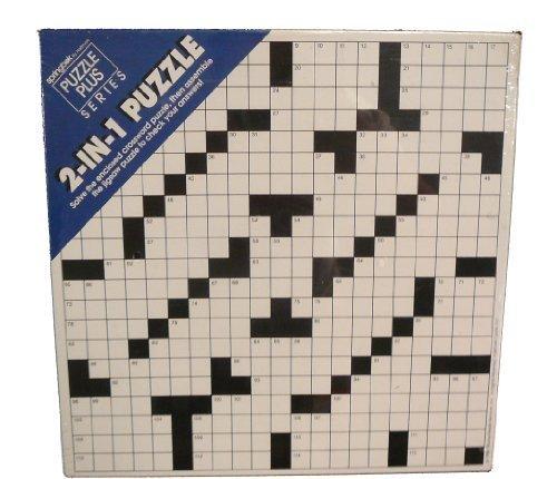 Springbok 2-In-1 Puzzle Crossword Puzzle
