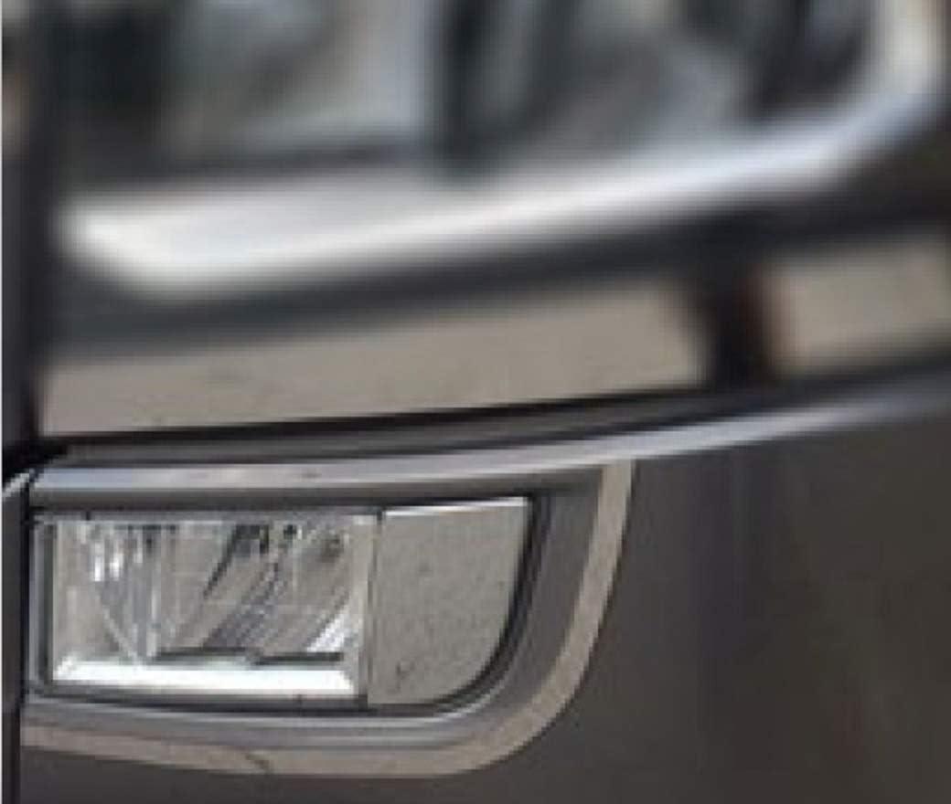 Juego de 4 faros delanteros de acero inoxidable y decoraci/ón de luces antiniebla de nueva generaci/ón Scania S Series 2016+